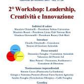 """Secondo Workshop """"Leadership, Creatività, Innovazione"""". Viaggio lunga una U, con 5 Discipline. MbM c'è!"""