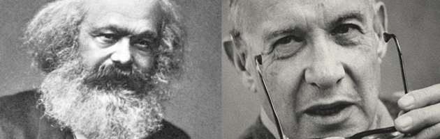 """Marx Vs Drucker. 200 anni di Marx. """"Quando uscì Il Capitale il management non esisteva"""": Peter Drucker, guru mondiale del management del XX secolo [lettura in 1 min]"""