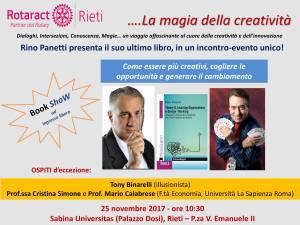 Flyer evento Sabina Universitas 25_11_2017