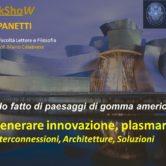 WorkShoW MbM a La Sapienza! In paesaggi di gomma americana…GENERARE INNOVAZIONE, PLASMARE IL FUTURO. Interconnessioni, Architetture, Soluzioni
